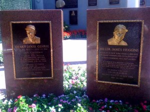 Gehrig and Huggins Plaques.jpg