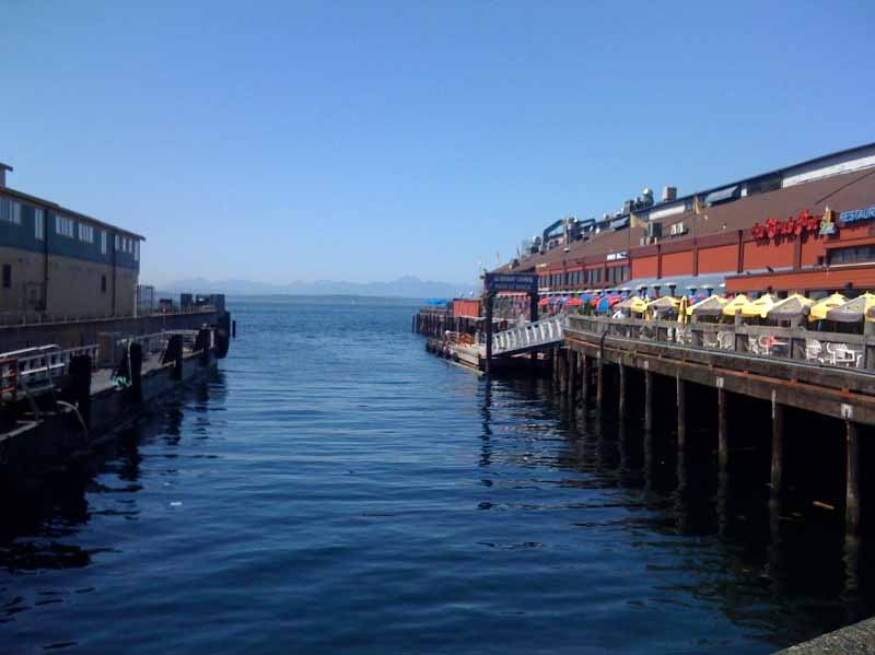 Seattle from the booth with steve stewart for Seattle fishing pier